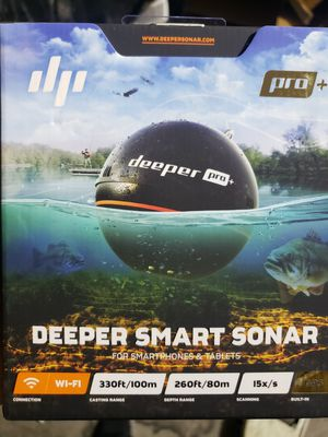 Deeper pro + Smart sonar for Sale in Los Angeles, CA