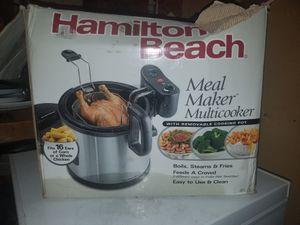 Multi Cooker- Hamilton Beach steamer / fryer for Sale in Cashmere, WA