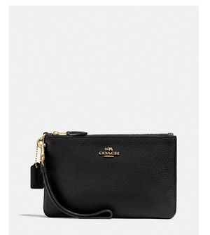 Brand new coach black wristlet still in packaging never opened for Sale in Antioch, CA