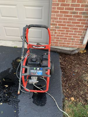 Pressure washer works but has weak pressure ? for Sale in VLG OF LAKEWD, IL