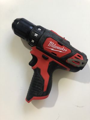 Milwaukee New drill driver M12 (tool only) Nuevo for Sale in Los Angeles, CA
