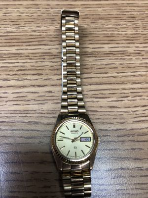 Seiko President 3E23-0A60 Women's Gold Plated Watch for Sale in Tustin, CA
