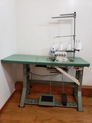 JUKI MO-3716 Five Thread Serger Overlock Sewing machine with Shirring for Sale in Queens, NY