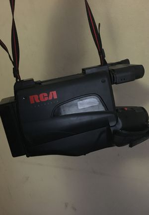 Two RCA VHS Camcorders in good condition same charger but Only one Charger with case for Sale in Monroe, LA
