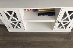 White TV stand/bookcase for Sale in Davis, CA