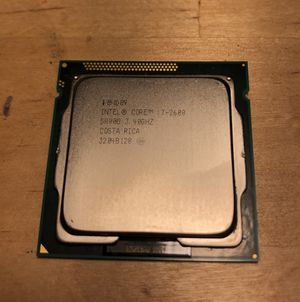 intel core i7 2600 CPU fits in any LGA 1155 intel motherboard. Heat sink included. for Sale in San Diego, CA