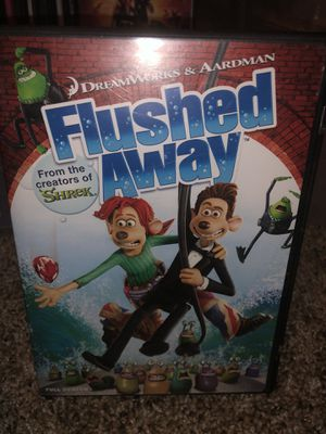 Dreamworks Flushed Away children's DVD movie - from the creators of Shrek ! for Sale in Phoenix, AZ