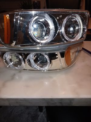 Headlights for gmc truck yukon for Sale in East Liberty, PA
