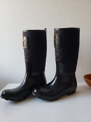 Coach rain boots for Sale in Culver City, CA