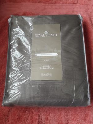 Brand new 2 panel curtains energy saving from jcpenney for Sale in Bridgeport, CT