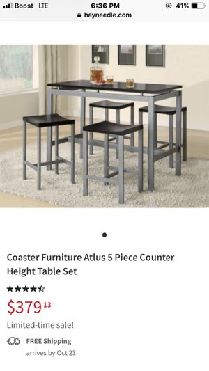 1 table 4 chairs for Sale in The Bronx, NY