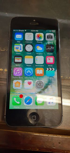 iPhone 5 unlocked!!! for Sale in Cleveland, OH
