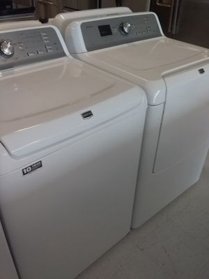 Maytag washer and dryer used good condition 90days warranty for Sale in Mount Rainier, MD