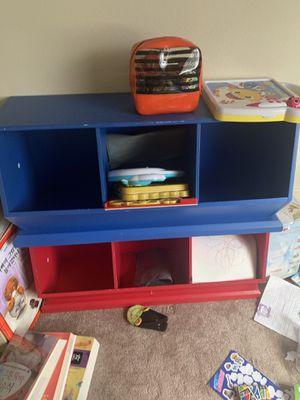 Kids bookcase/toy storage for Sale in Garden Grove, CA