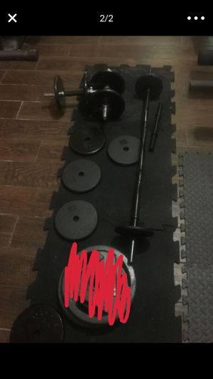 Weight set for Sale in Pearland, TX