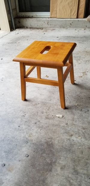 Small Wooden Stool for Sale in Austin, TX