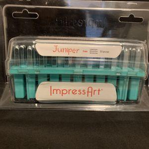 Impress Art Juniper 3mm Lower Case Metal Stamp Set for Sale in Lyman, SC
