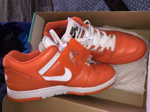 SUPREME X AIR FORCE 2 'ORANGE' (USED) Size M 9.5 for Sale in Avon Park, FL