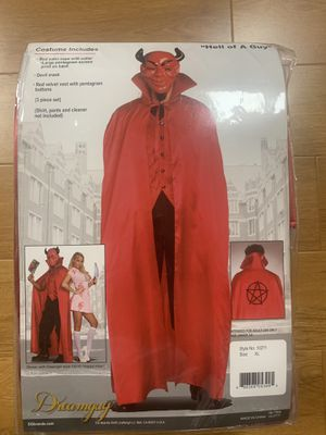 Devil with cape 3 piece Halloween costume set for Sale in Arcadia, CA