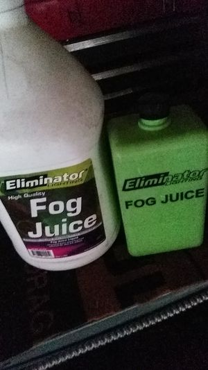 Fog juice eliminator lightning for Sale in Rancho Cucamonga, CA