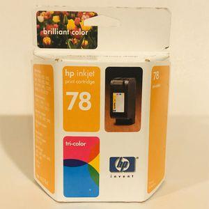 HP Printer Ink Tri Color 78 for Sale in Apopka, FL