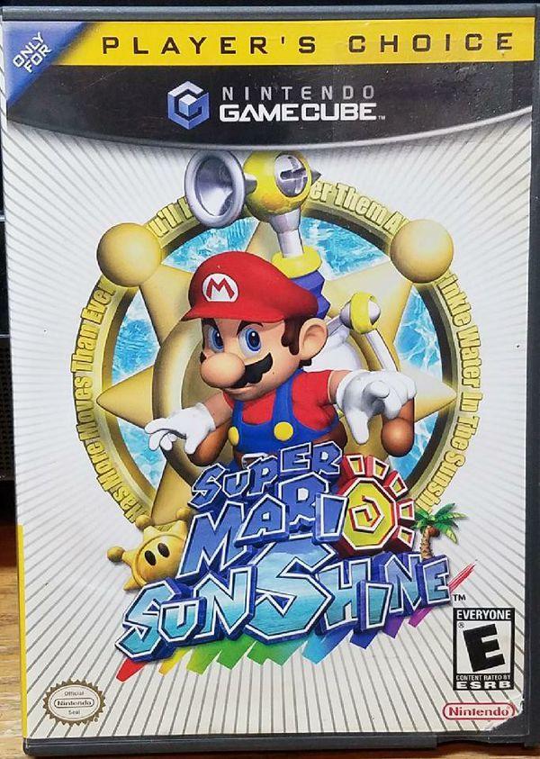 Super Mario Sunshine Nintendo GameCube