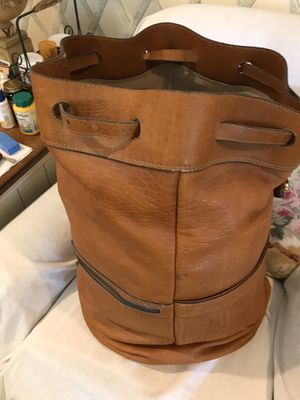 Leather Duffle Bag for Sale in Denmark, SC