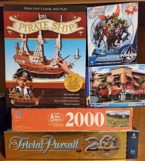 Games and puzzles for Sale in Pomona, CA