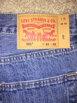 Levi 501 Jeans for Sale in Lake Forest Park,  WA