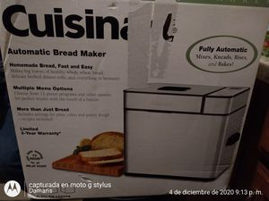 Cuisinart Automatic Bread Maker for Sale in Chicago, IL