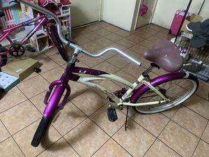 "Vendo bike beach cruiser size ""24"" de aluminio en $120 for Sale in El Monte, CA"