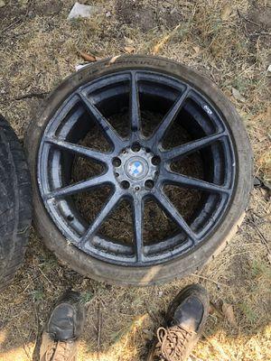 3 Niche 19 in black rims came off bmw. for Sale in Riverside, CA