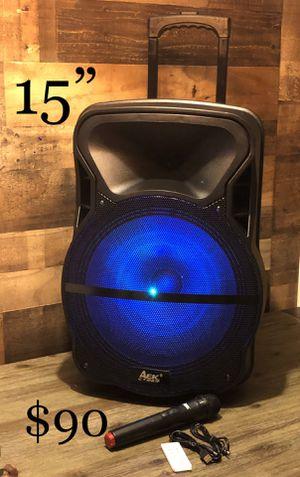 "15"" AEK cyber Bluetooth Trolley Speaker for Sale in Commerce, CA"