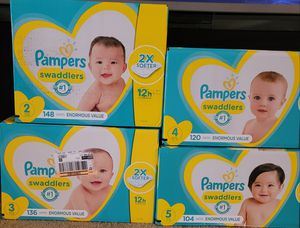 Pampers size 1 through 6 for Sale in Glendora, CA