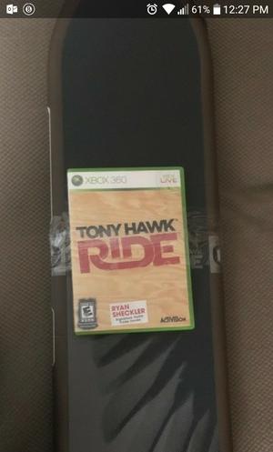 XBOX 360 TONY HAWK GAME & SKATE BOARD for Sale in Obetz, OH
