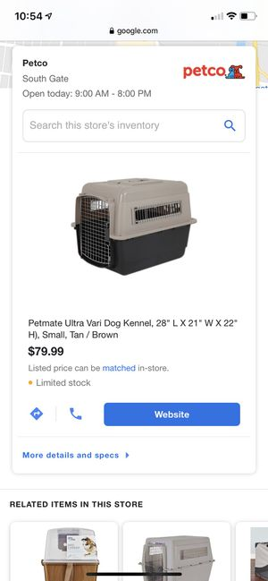 "Petmate ultra kennel 28"" for Sale in Gardena, CA"