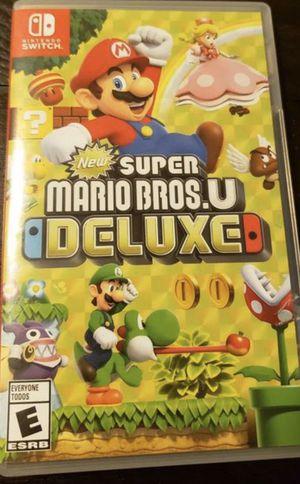 Nintendo Switch Super Mario Bros. U Deluxe for Sale in Fontana, CA