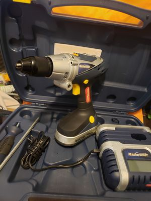 Mastercraft cordless hammer drill for Sale in Kansas City, MO