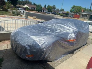 Size large car cover protect from oxidation all weather for Sale in San Jose, CA