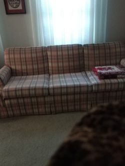 Sofa. Not A Sleeper. Comfortable. for Sale in Mentor,  OH