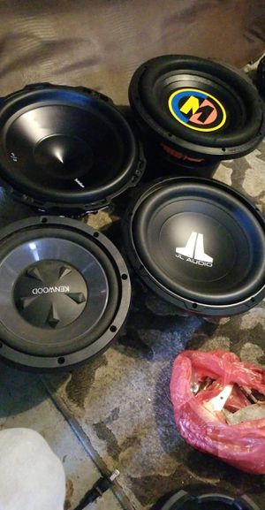 Kenwood 10in Subwoofer for Sale in White Hall, WV