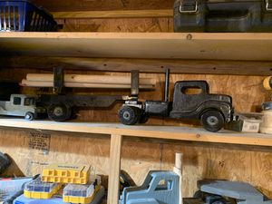 Kids wooden toy log truck for Sale in Union, MS