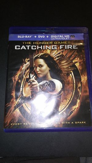 The hunger games catching fire Blu-ray + DVD + digital HD ultraviolet for Sale in Sprouses Corner, VA
