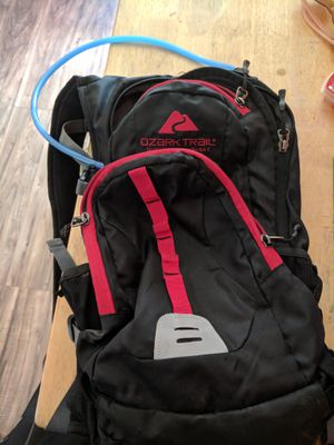 Hiking backpack with water attachment for Sale in St. Louis, MO