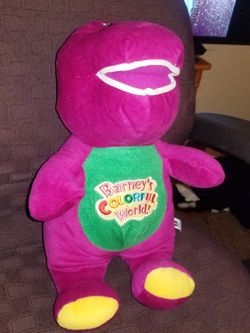 14' Barney's Colorful World Pre-Owned Good Condition for Sale in Baltimore,  MD