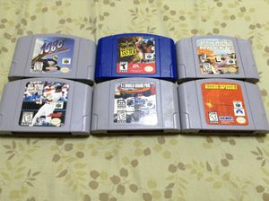 Nintendo 64 Video Games for Sale in Byron Center, MI