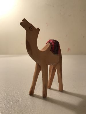 Authentic Carved Israeli Camel for Sale in Los Angeles, CA