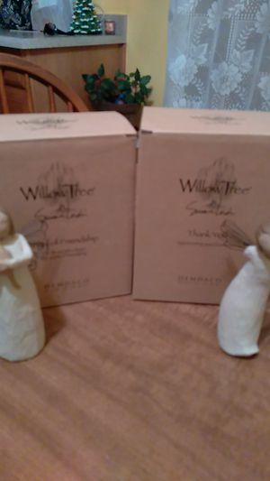Brand new Willow Tree angels,1 is friendship, the other is Thank you. for Sale in Edgewood, NM