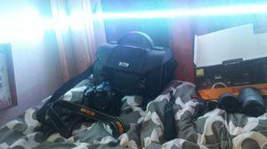 Nikkon camera set for Sale in Halsey, OR
