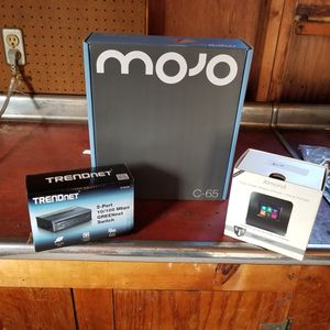 Complete WiFi Network Mojo C-65, wireless router and switch. for Sale in Muncy, PA